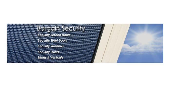 Bargain Security Logo