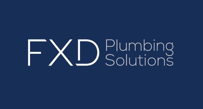 FXD Plumbing Solutions Logo