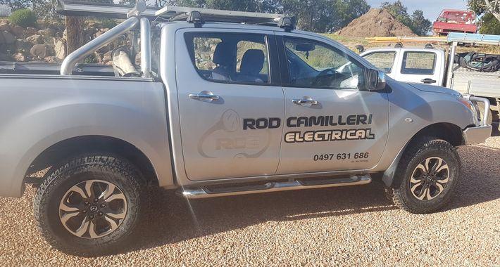 Rod Camilleri Electrical Logo