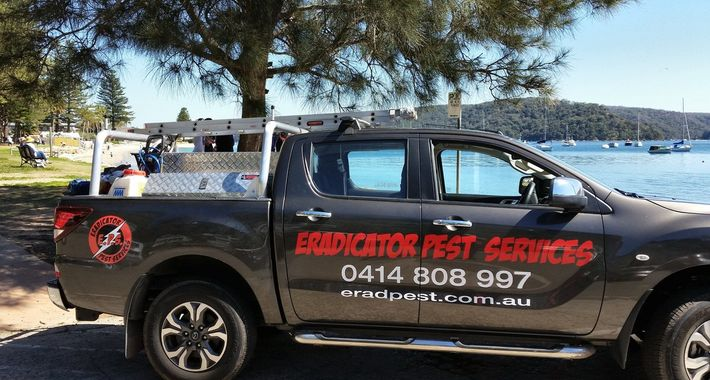Eradicator Pest Services Logo