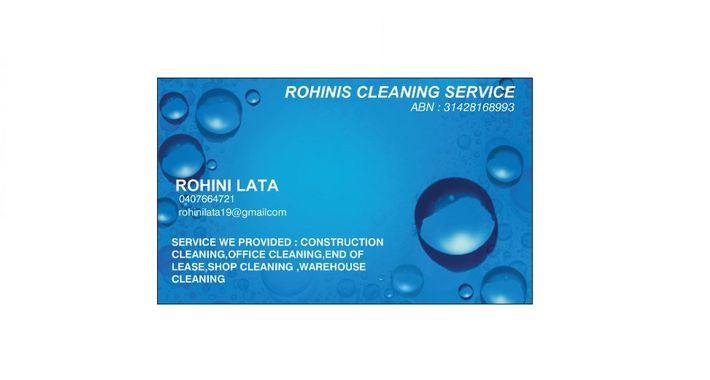 Rohinis Cleaning Services Logo