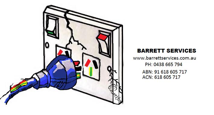 BARRETT SERVICES Logo