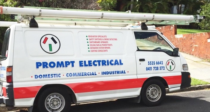 Prompt Electrical Logo