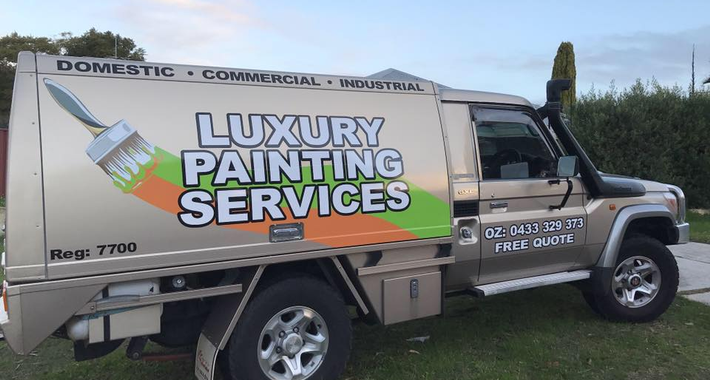 Luxury Painting Services Logo
