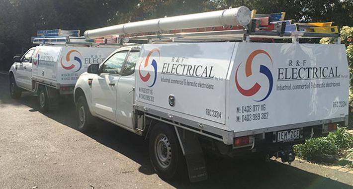 R&F Electrical Logo