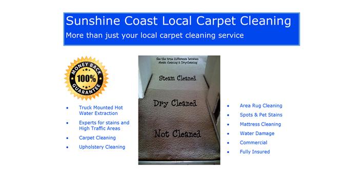 Sunshine Coast Local Carpet Cleaning Logo