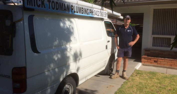 Mick Todman Plumbing Logo