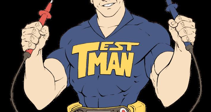 The Test Man QLD Pty Ltd Logo