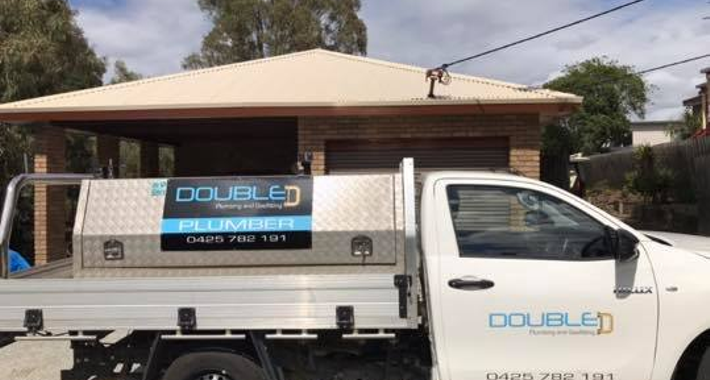 Double D Plumbing and Gasfitting Logo