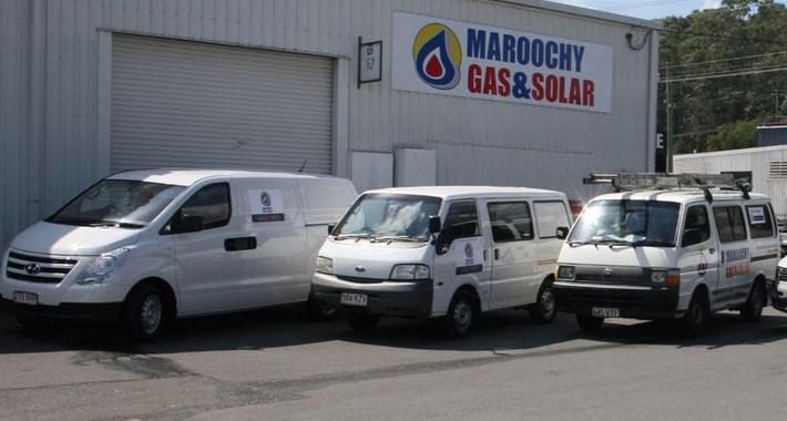 Maroochy Gas and Solar Pty Ltd Logo
