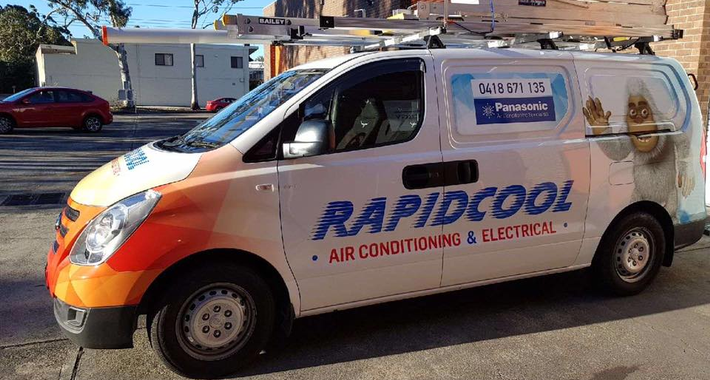 Rapid Cool Air Conditioning & Electrical Pty Ltd Logo