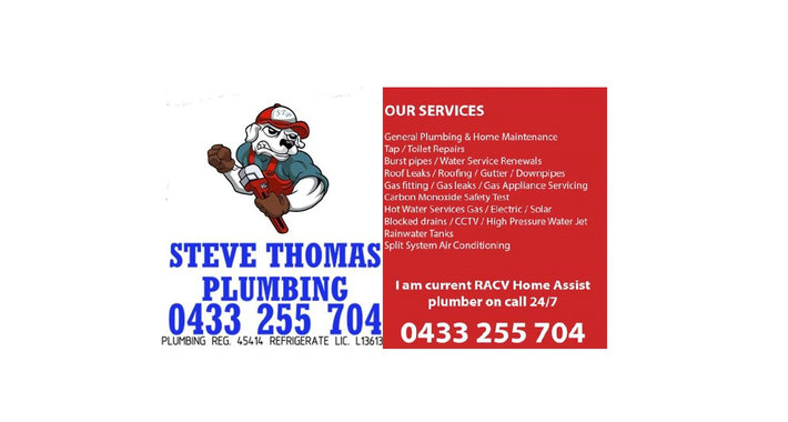 Steve Thomas Plumbing & Home Maintenance Logo
