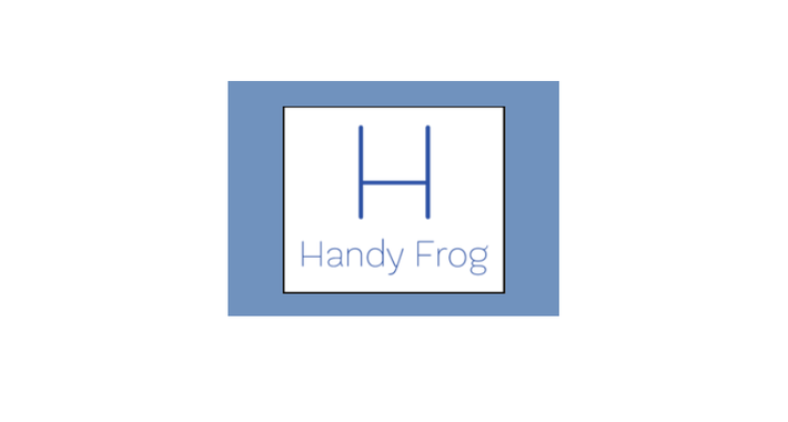 Handy Frog Logo