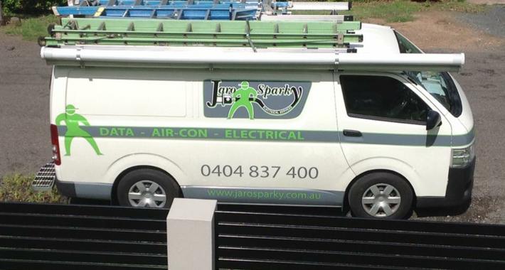 Jaro Sparky Electrical Services Logo