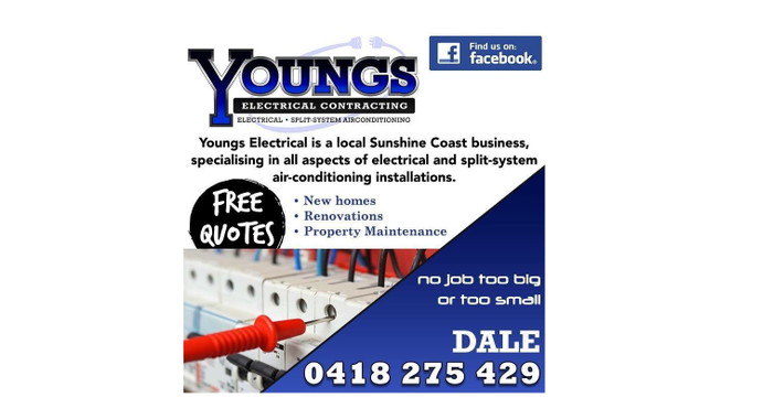 Youngs Electrical Contracting Logo