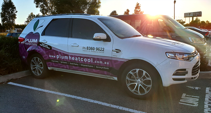 Plum Heating and Cooling Logo