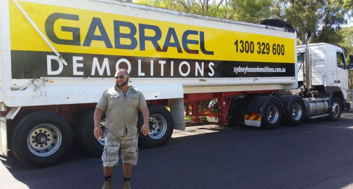 Gabrael House Demolition Pty Ltd Logo