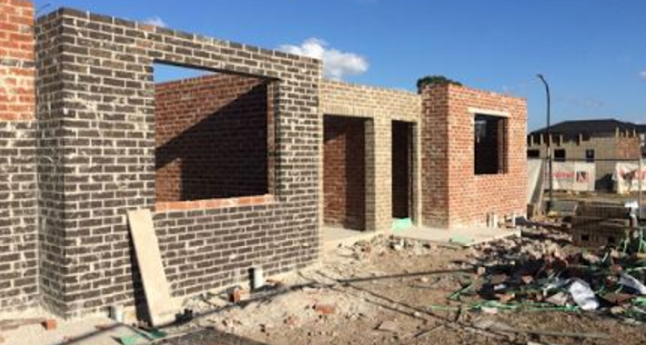 Leading Bricklaying Logo
