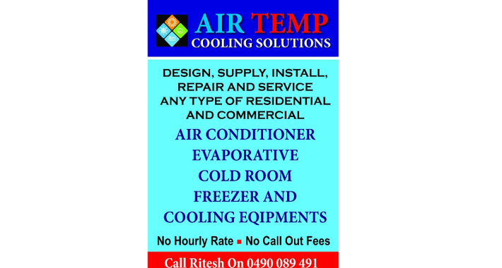 Air Temp Cooling Solutions Logo