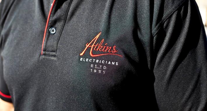 Atkins Electricians Logo