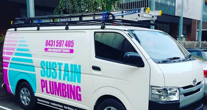 Sustain Plumbing Logo