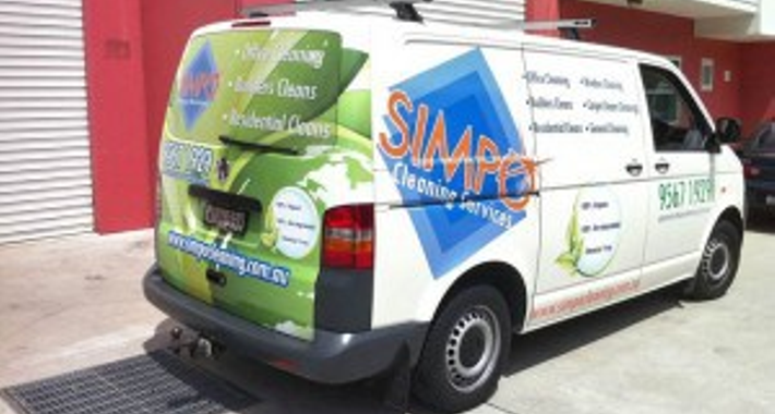 Simpo Cleaning Services Pty Ltd Logo