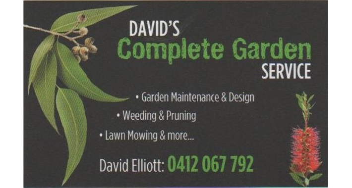 David's Complete Garden Service Logo