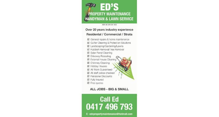 Ed's Property Maintenance Logo