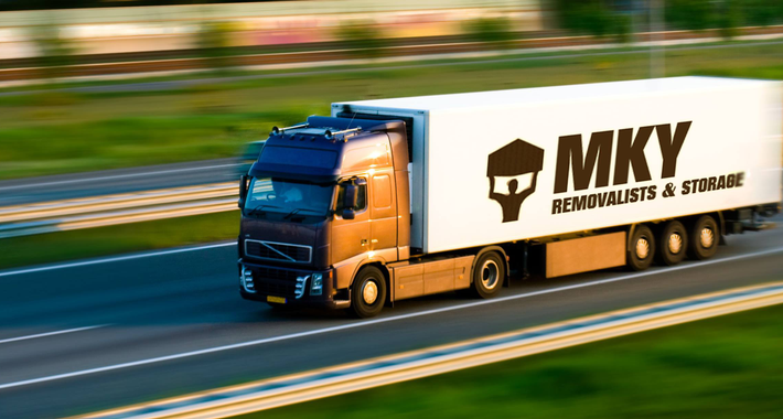 MKY Furniture Removalists Logo