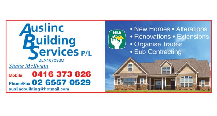 Auslinc Building Services Logo
