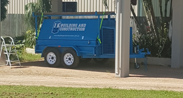 IK Building And Construction Logo