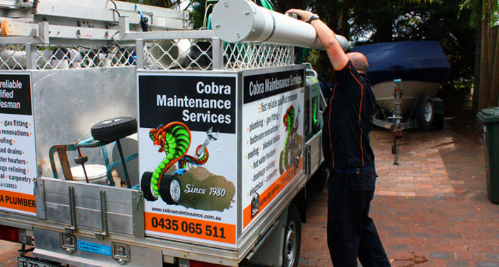 Cobra Maintenance Services Logo