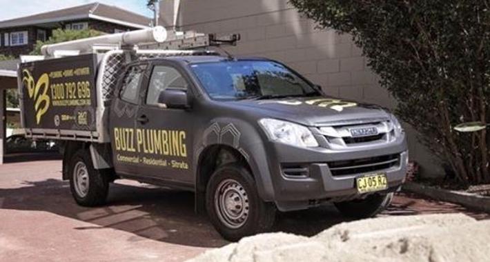 Buzz Plumbing Logo