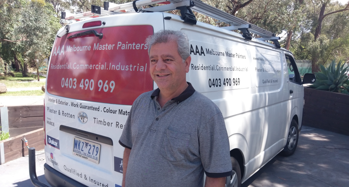 AAA Melbourne Master Painters Logo