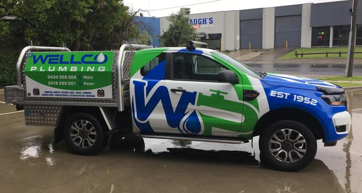 Wellco Plumbing Logo