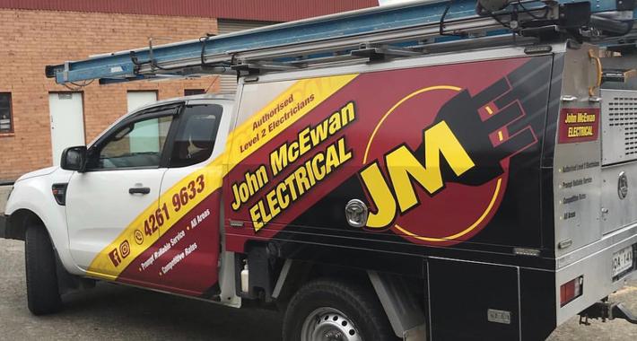 John McEwan Electrical Pty Ltd Logo