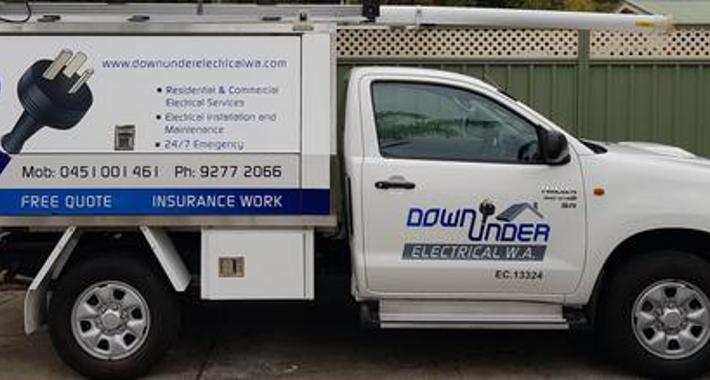 Down Under Electrical W.A. Logo
