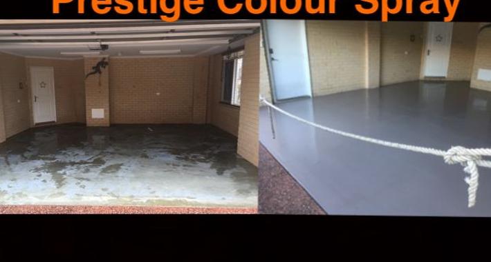 Prestige Colour Spray Logo