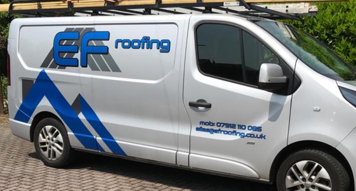 EF Roofing Logo