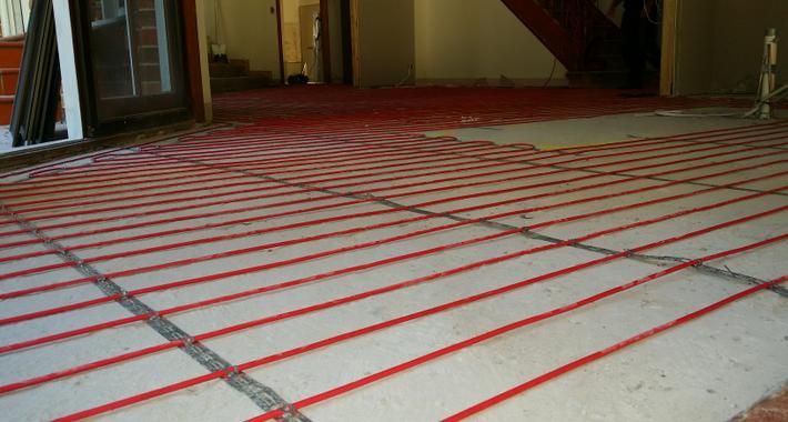 Omega Floor Heating Logo