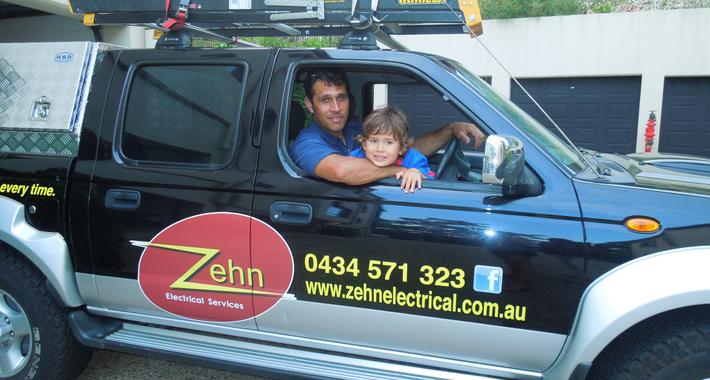 Zehn Electrical Logo