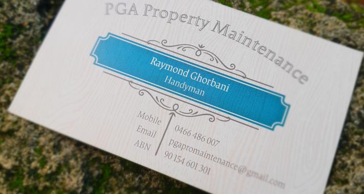 PGA Property Maintenance Logo