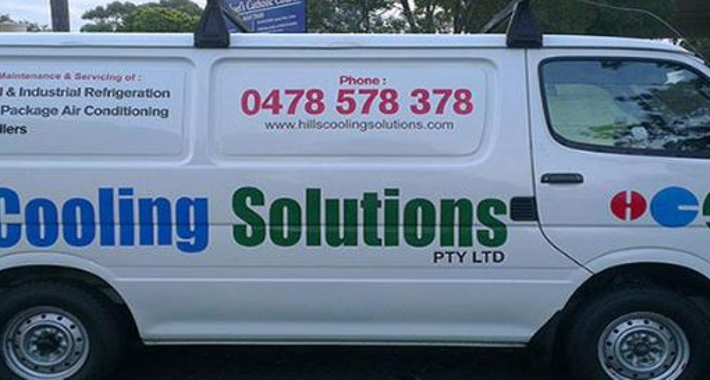 Hills Cooling Solutions Logo