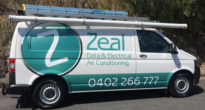 Zeal Data & Electrical Logo