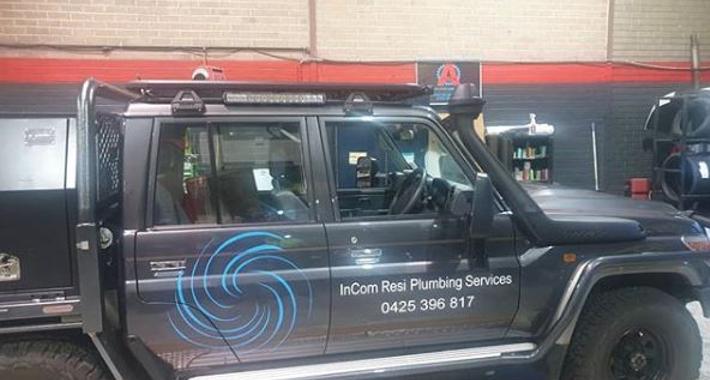 InCom Resi Plumbing Services Logo
