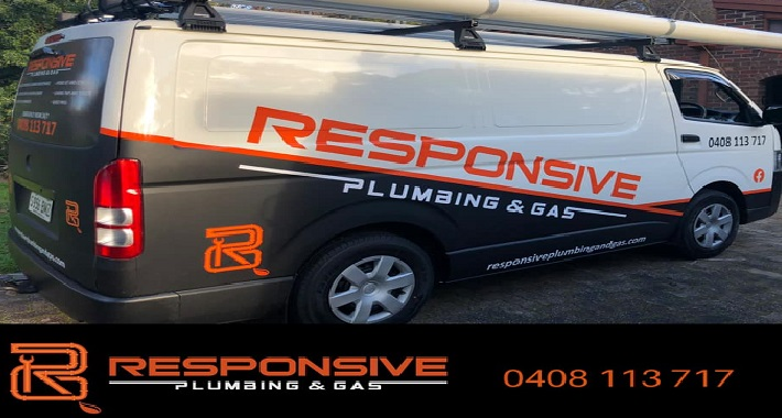 Responsive Plumbing and Gas Logo