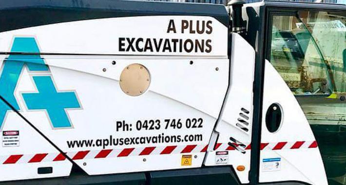 A Plus Excavations Pty Ltd Logo