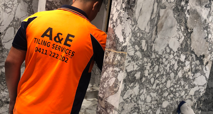A&E Tiling Services Pty Ltd Logo