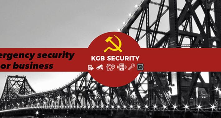 K.G.B. Security Locksmiths Logo