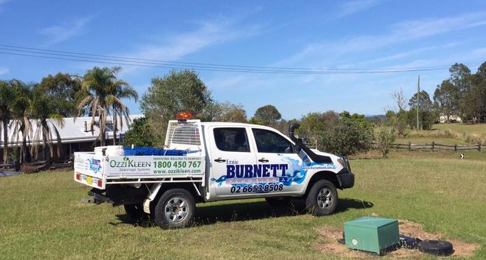 Ernie Burnett Plumbing and Civil Logo